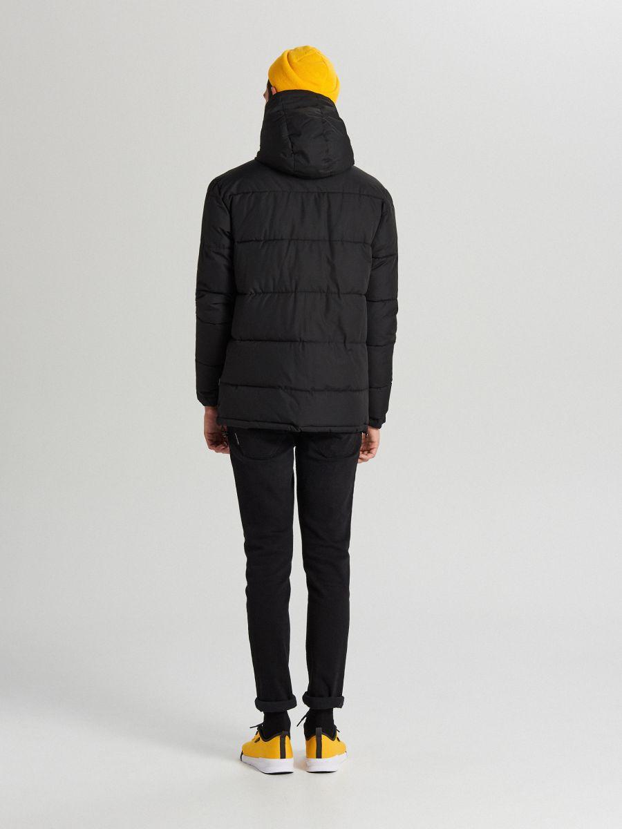 Теплый анорак с капюшоном - черный - WA092-99X - Cropp - 7