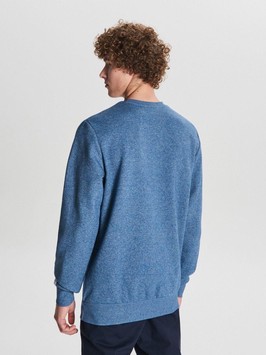 Толстовка Basic - голубой - WB311-55M - Cropp - 4