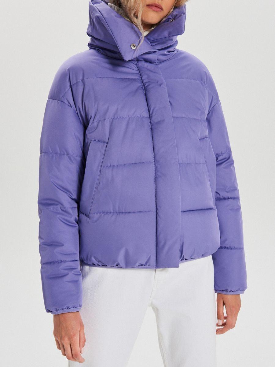 Объемная куртка - фиолетовый - WB866-44X - Cropp - 5