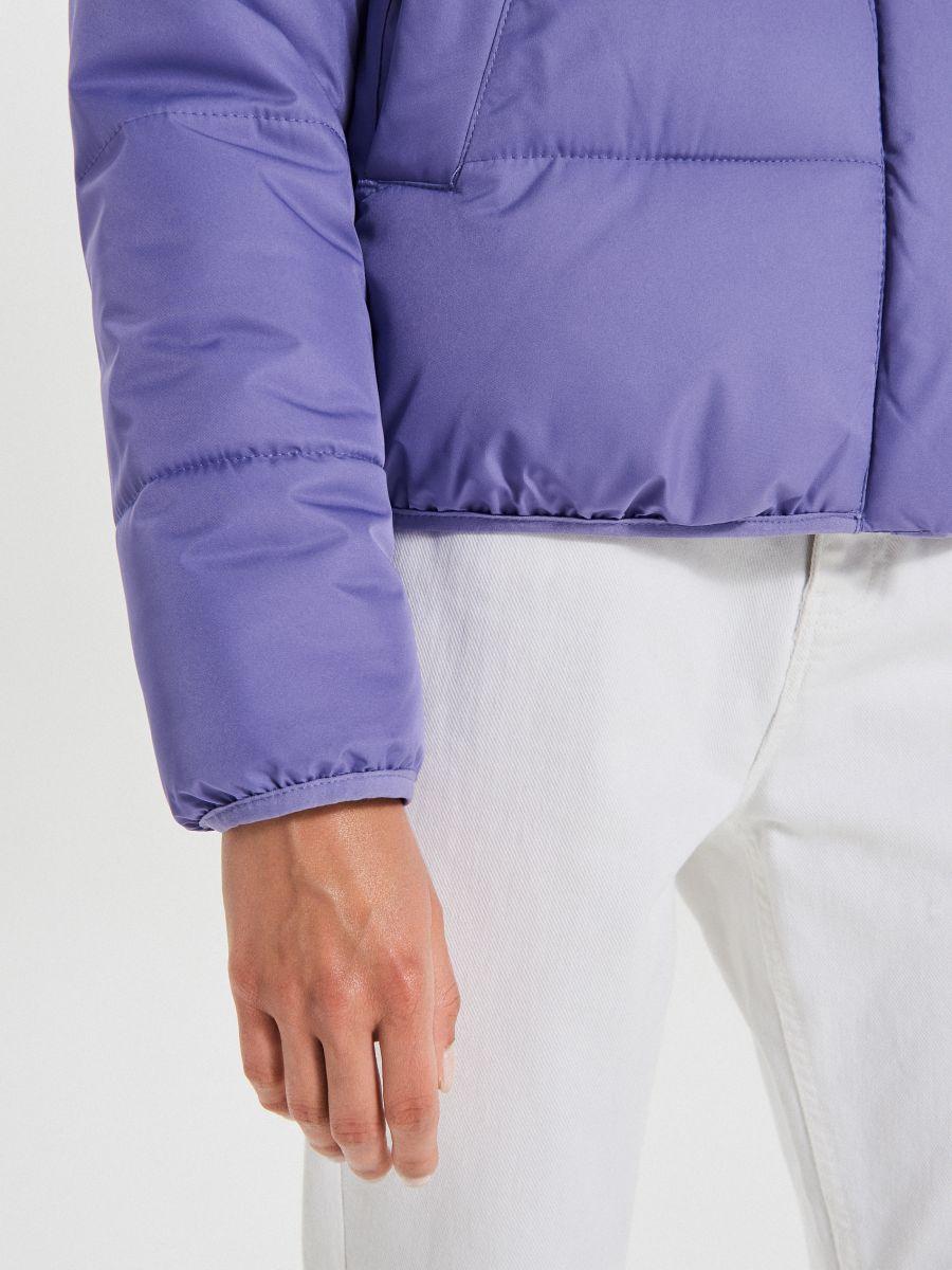 Объемная куртка - фиолетовый - WB866-44X - Cropp - 6
