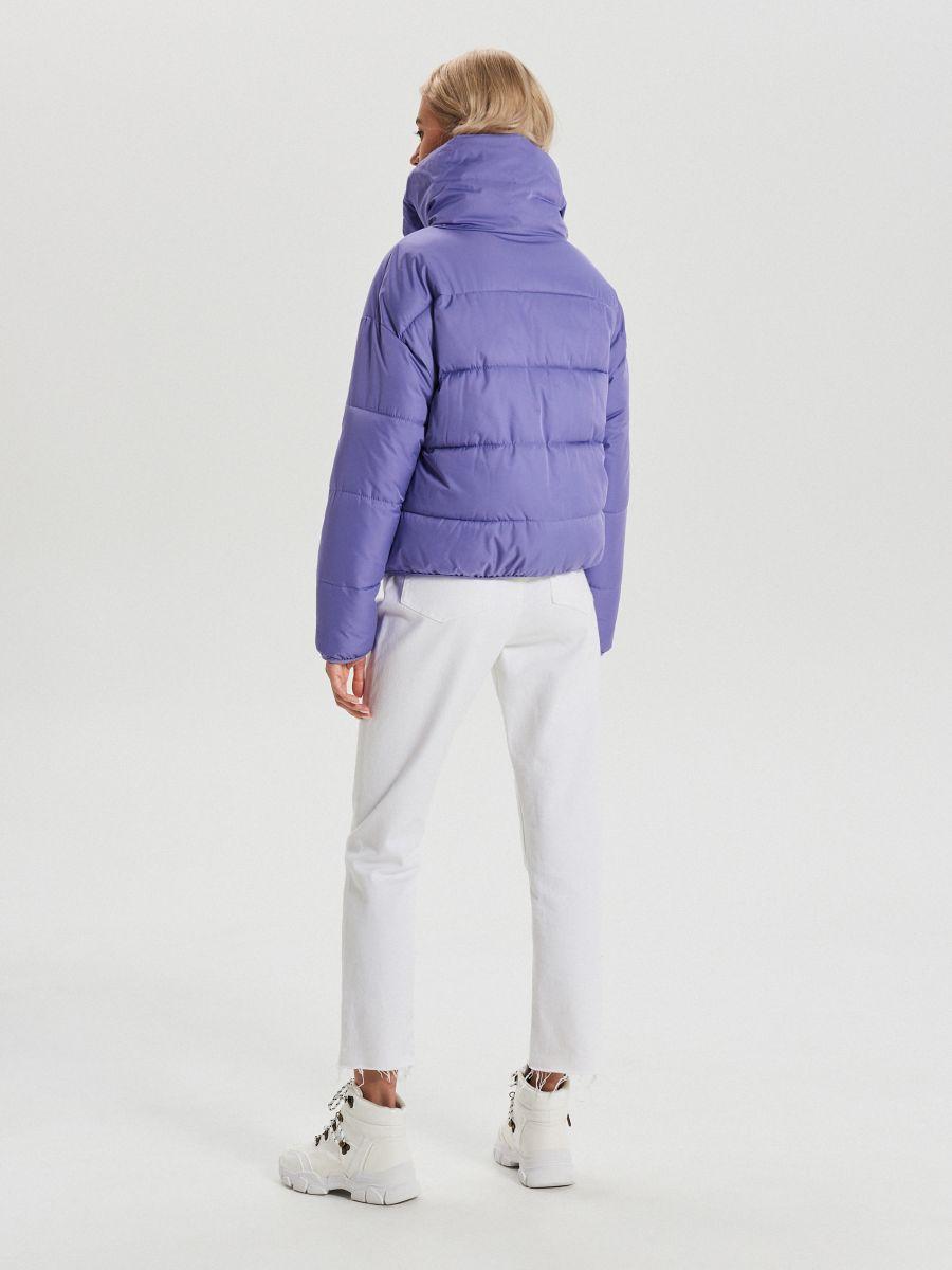 Объемная куртка - фиолетовый - WB866-44X - Cropp - 7