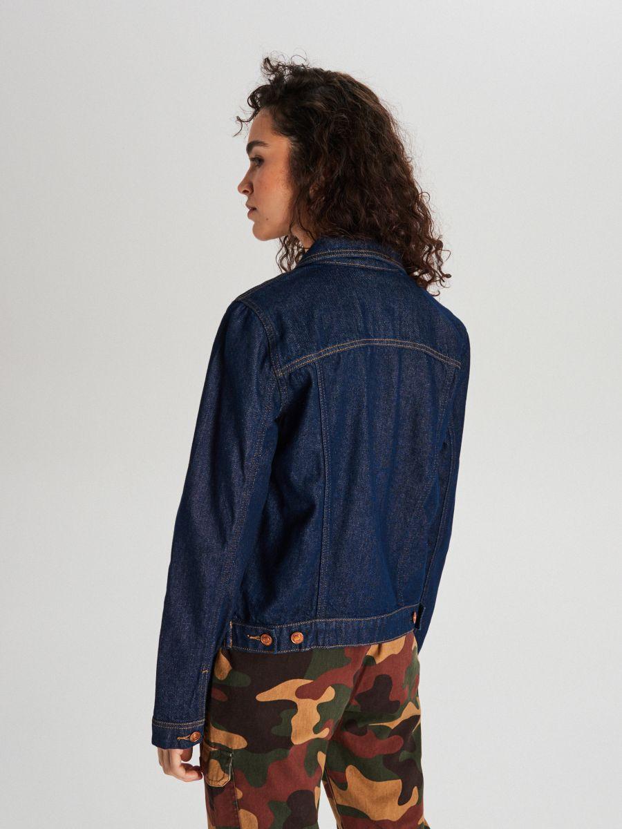 Джинсовая куртка - темно-синий - WG343-59J - Cropp - 6