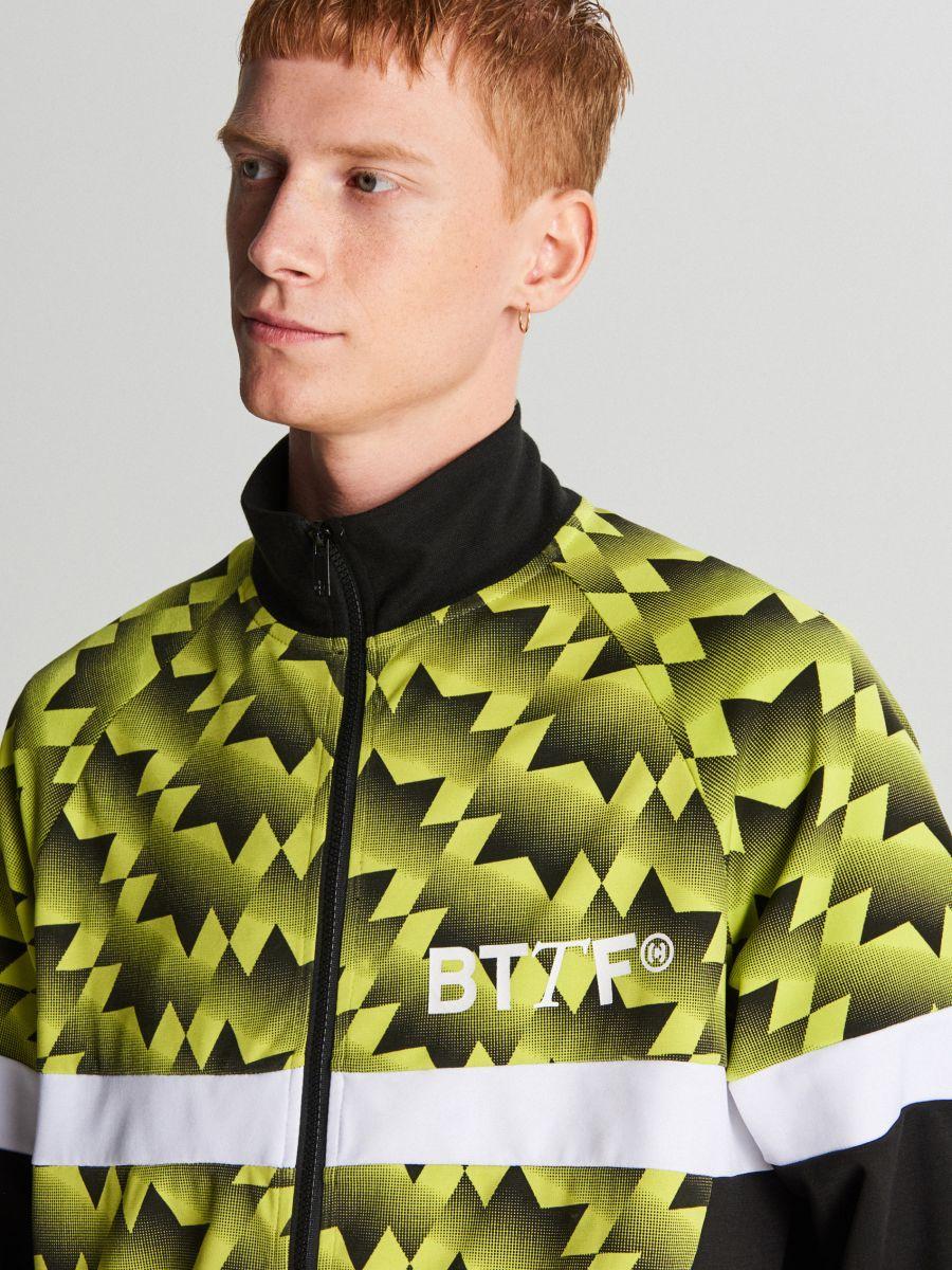 Спортивный свитшот - зеленый - WH098-71X - Cropp - 1