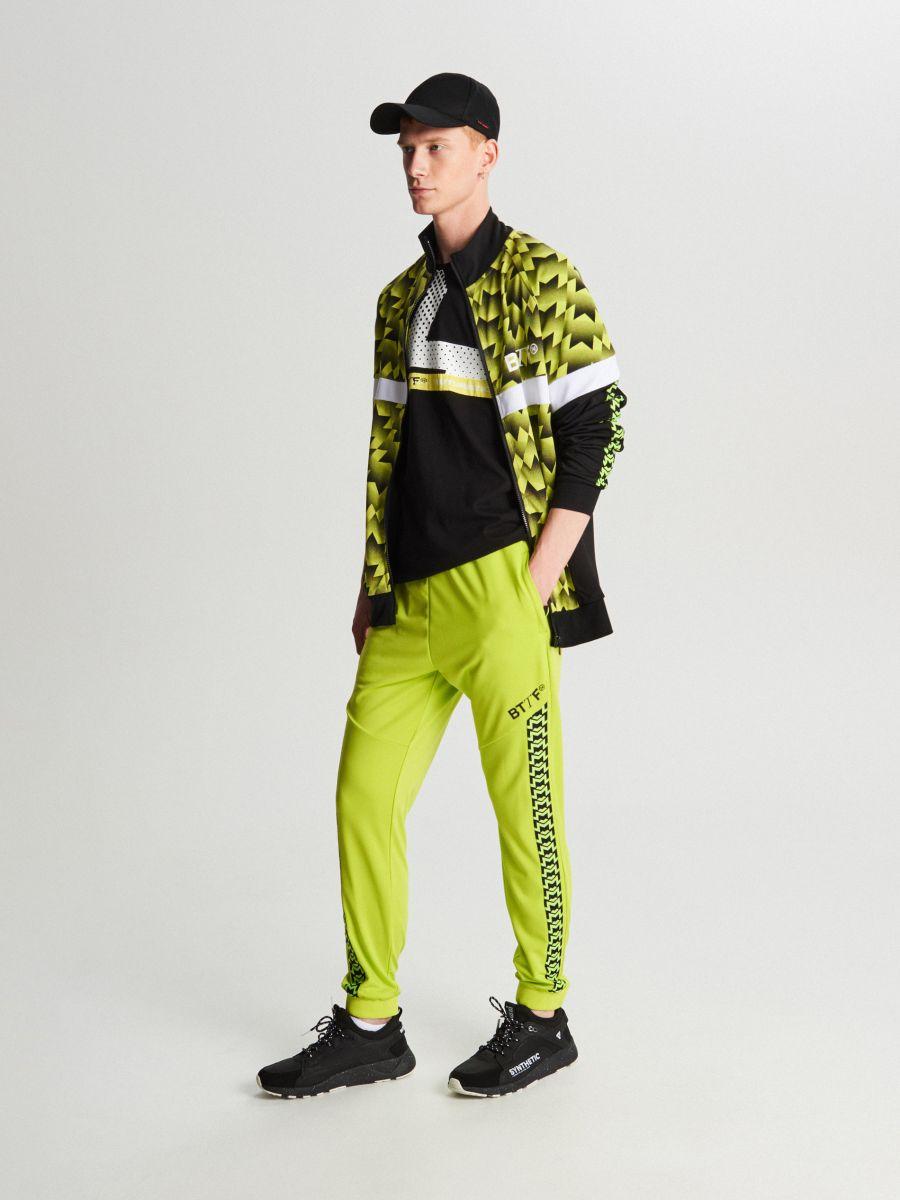 Спортивный свитшот - зеленый - WH098-71X - Cropp - 2