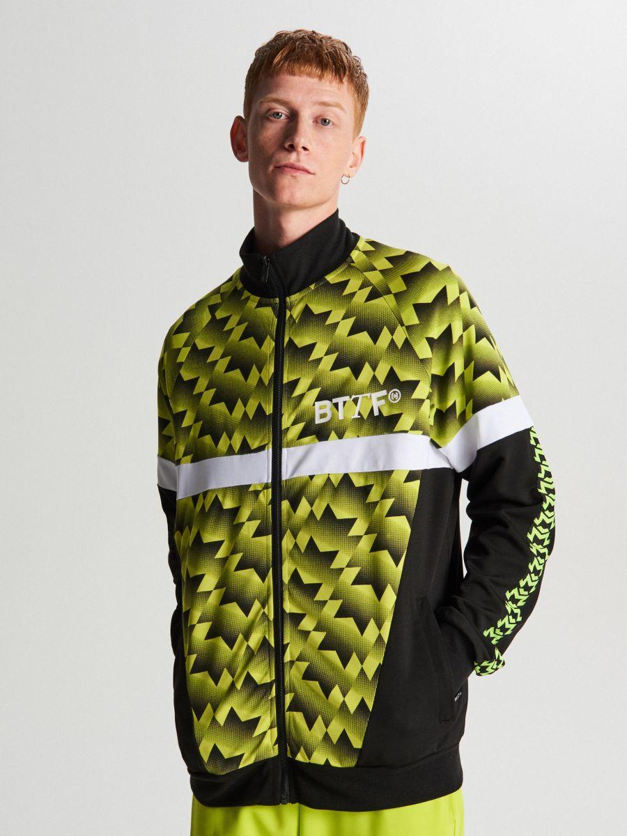 Спортивный свитшот - зеленый - WH098-71X - Cropp - 3