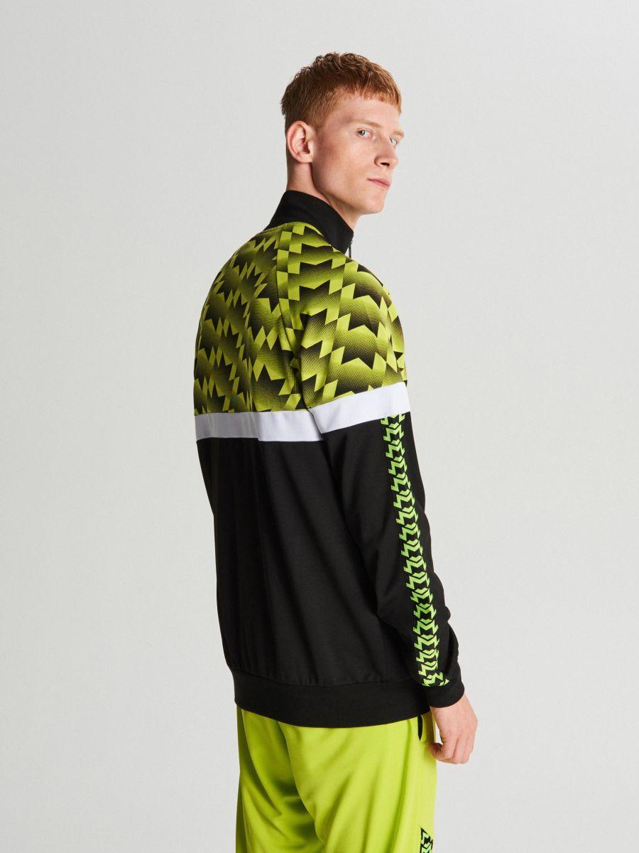 Спортивный свитшот - зеленый - WH098-71X - Cropp - 4