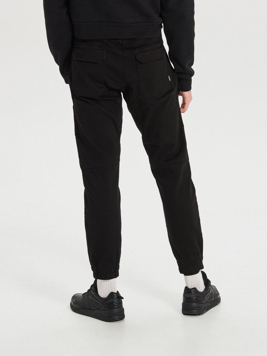 Джоггеры slim fit - черный - WH134-99X - Cropp - 4