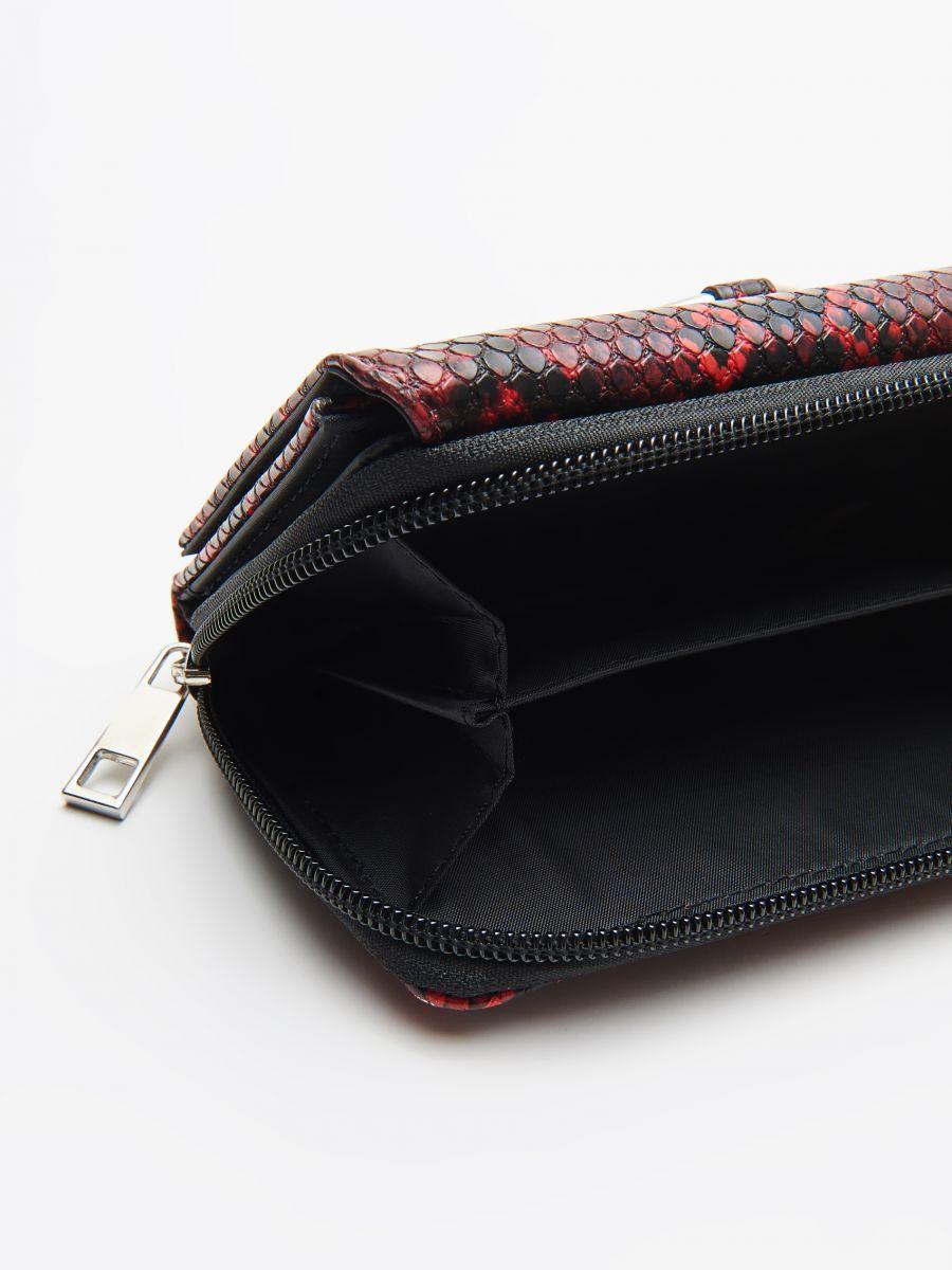 Бумажник - красный - WR032-33X - Cropp - 4