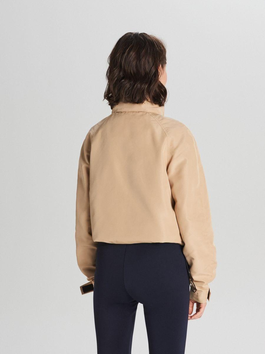 Куртка с капюшоном - бежевый - WS150-08X - Cropp - 5