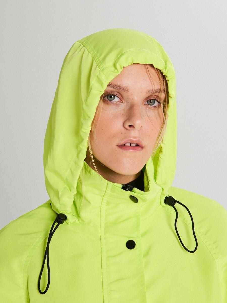 Куртка с капюшоном - зеленый - WS150-71X - Cropp - 5