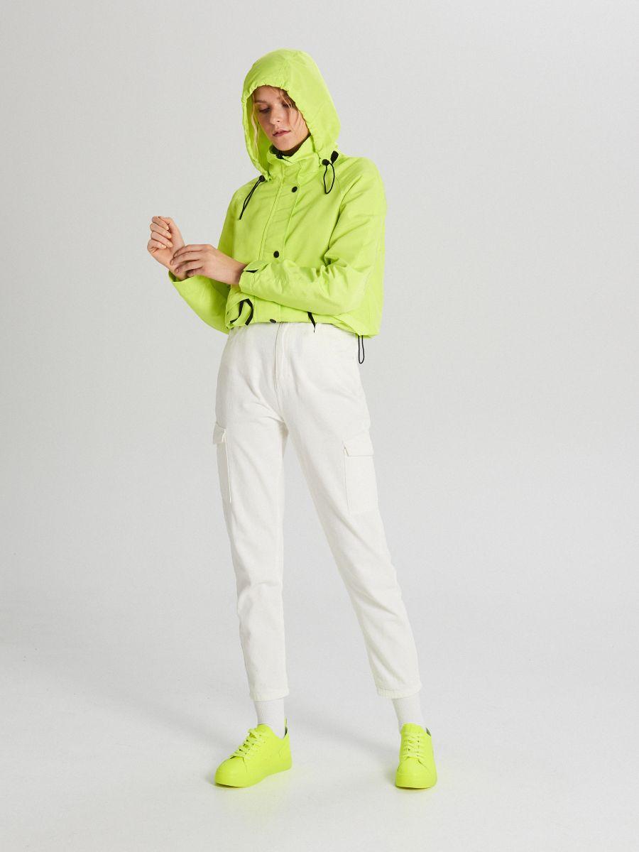 Куртка с капюшоном - зеленый - WS150-71X - Cropp - 3