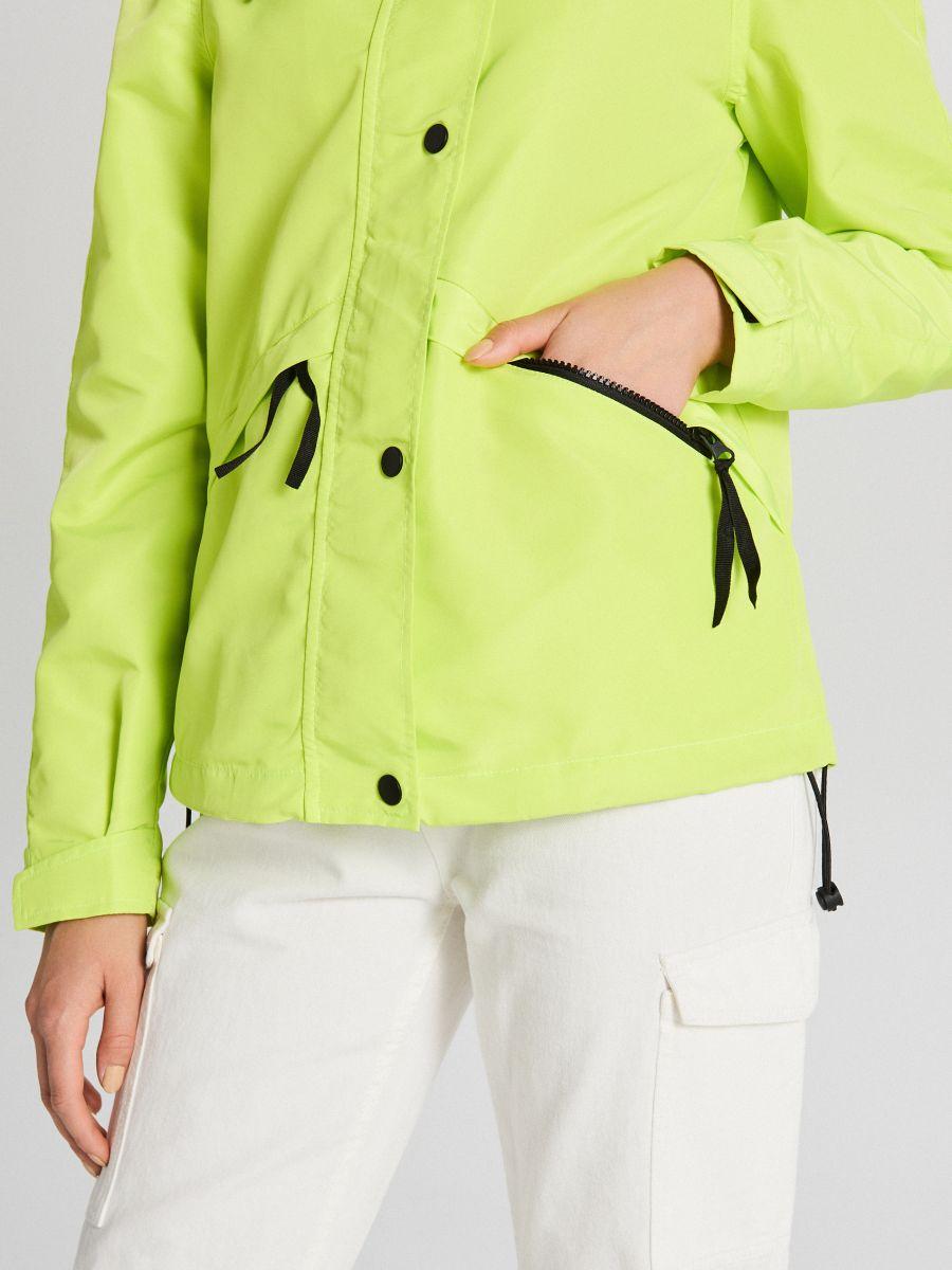 Куртка с капюшоном - зеленый - WS150-71X - Cropp - 6