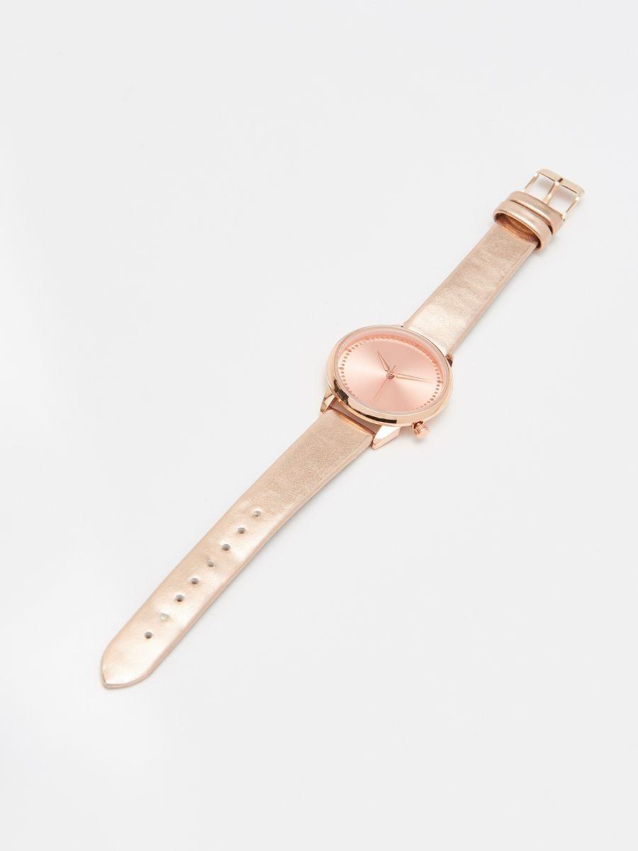 Часы - золотой - XA369-GLD - Cropp - 1