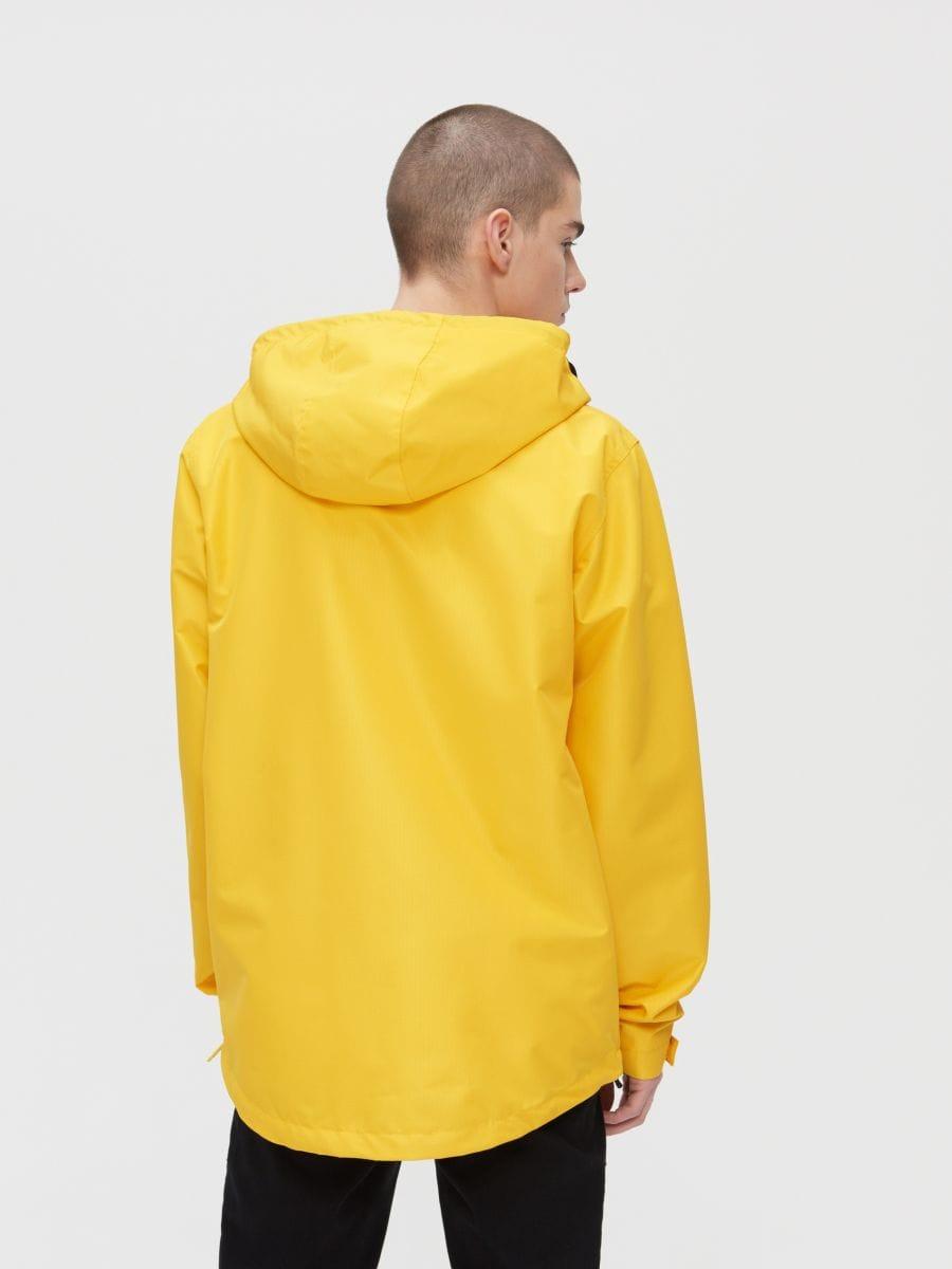 Легкая куртка-анорак с капюшоном - желтый - XJ981-11X - Cropp - 5