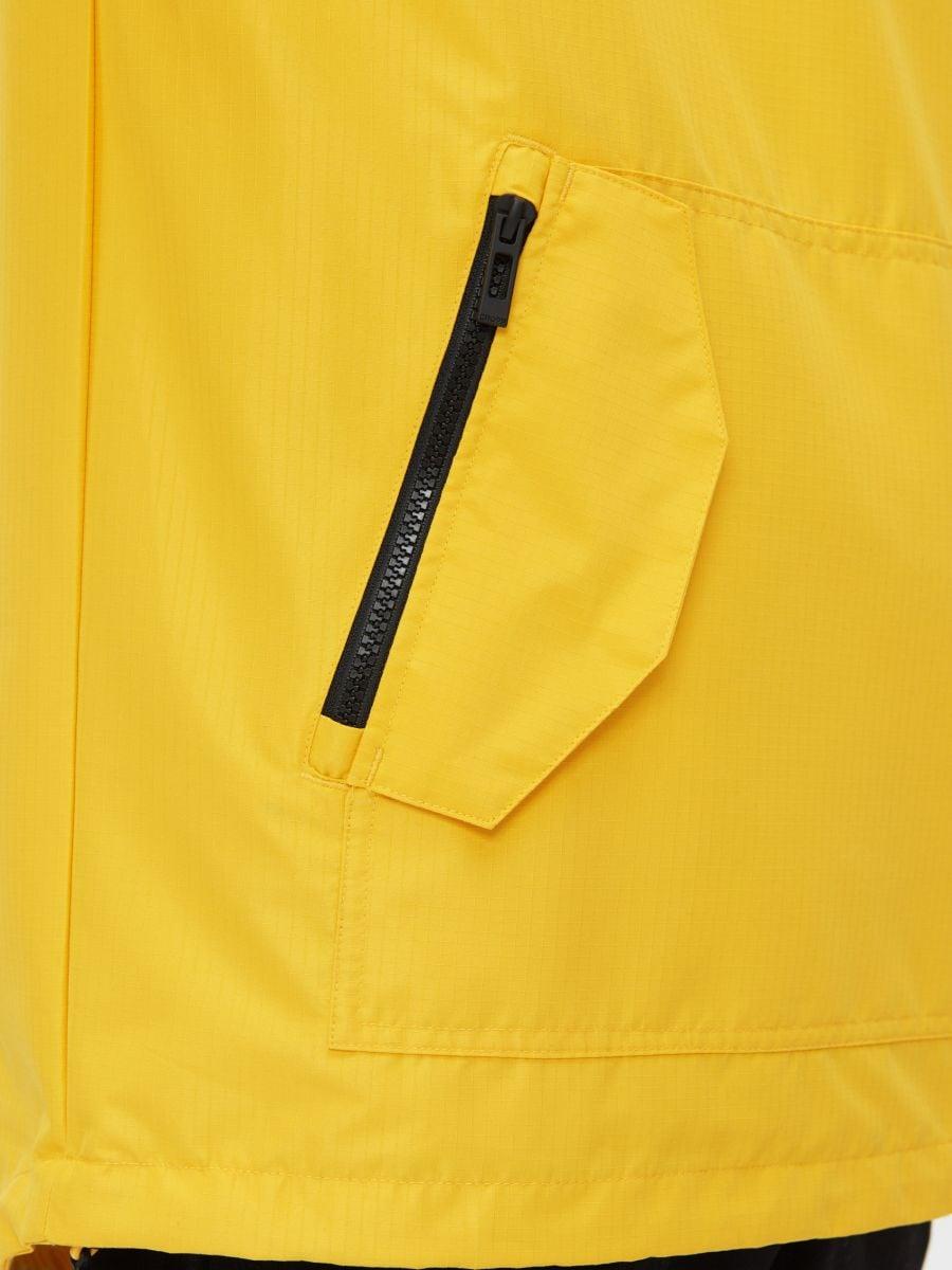 Легкая куртка-анорак с капюшоном - желтый - XJ981-11X - Cropp - 6