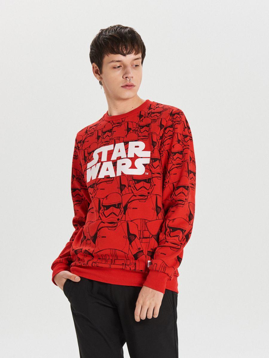 Красный свитшот Star Wars - красный - XN979-33X - Cropp - 1