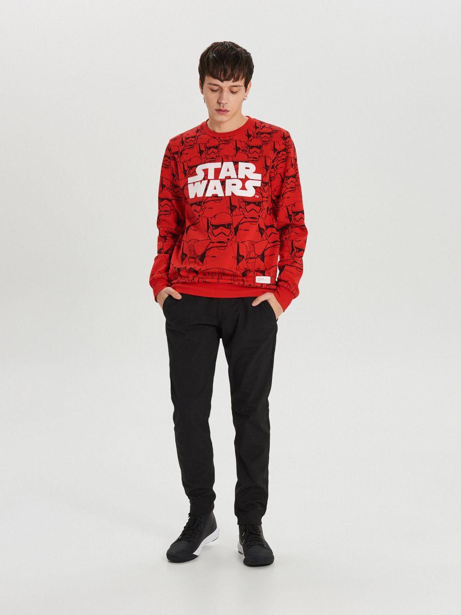 Красный свитшот Star Wars - красный - XN979-33X - Cropp - 2