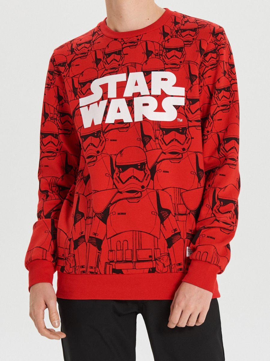 Красный свитшот Star Wars - красный - XN979-33X - Cropp - 3