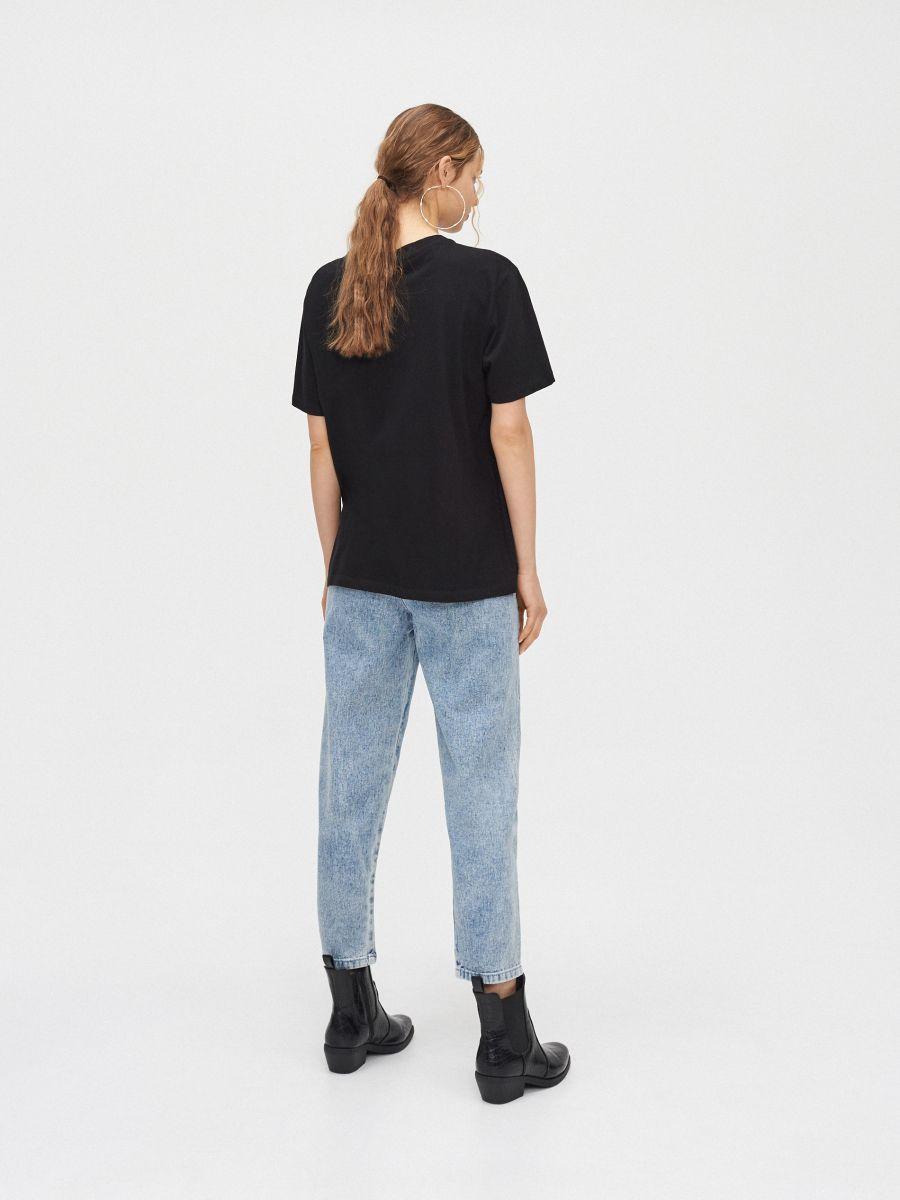 Блуза oversize - черный - YC839-99X - Cropp - 4