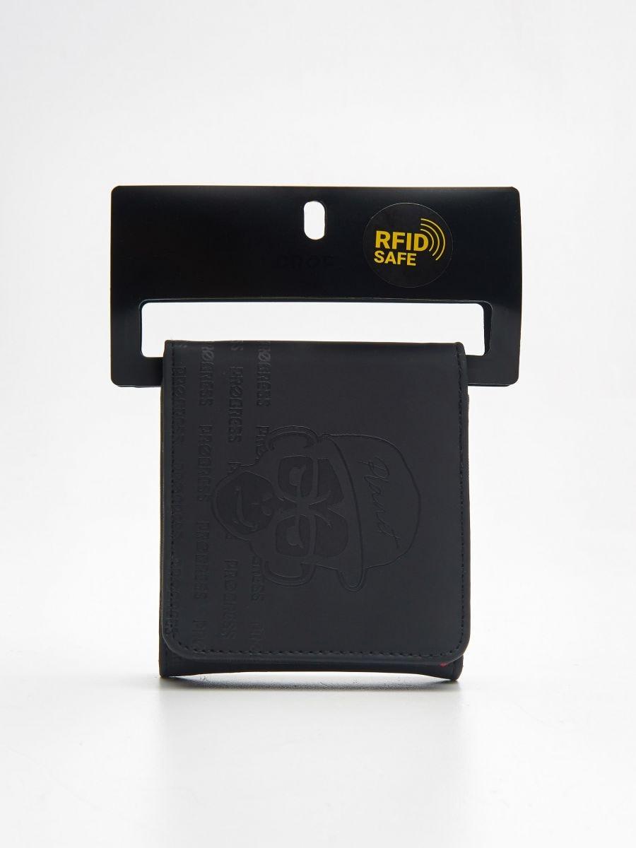 Большой кошелек - черный - ZI155-99X - Cropp - 1