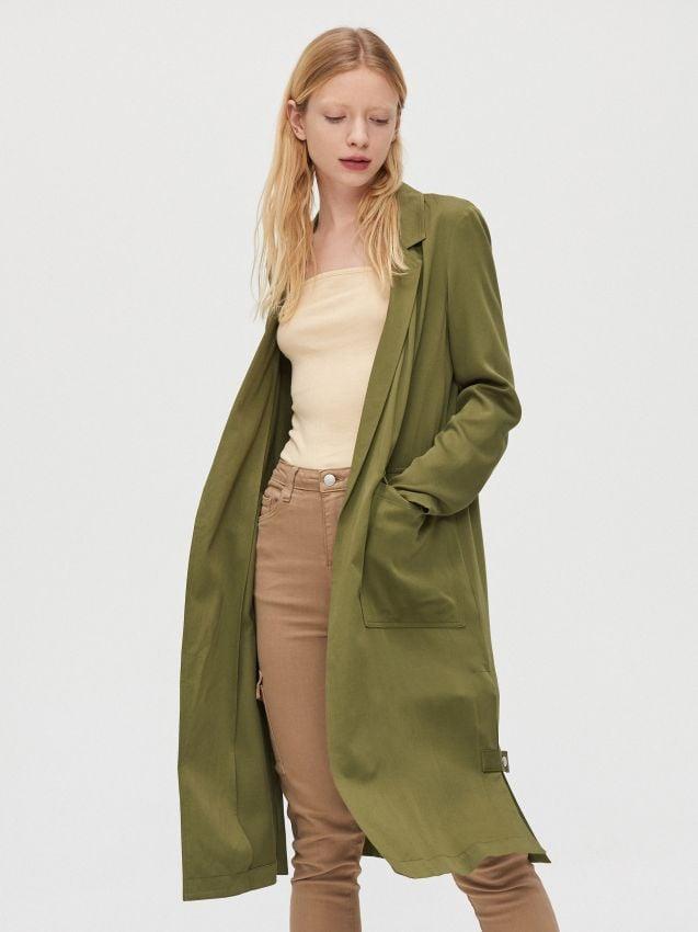 Długi płaszcz, CROPP, XL556 39X