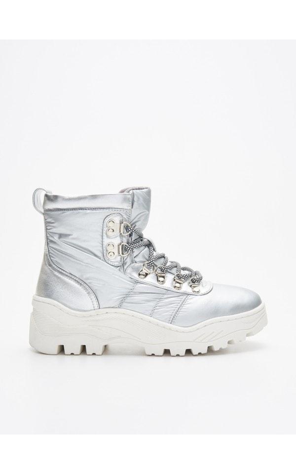 Vastag talpú téli cipő, CROPP, WE906 SLV