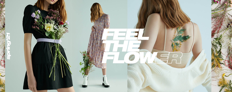 Feel The Flower! Cropp